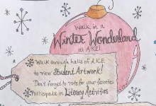 Admiral King Winter Wonderland Promotional Flyer