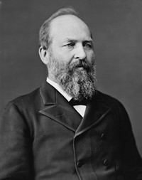 President Garfield photo