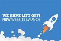New website rocket launch