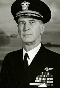 navy photo of Admiral King in uniform